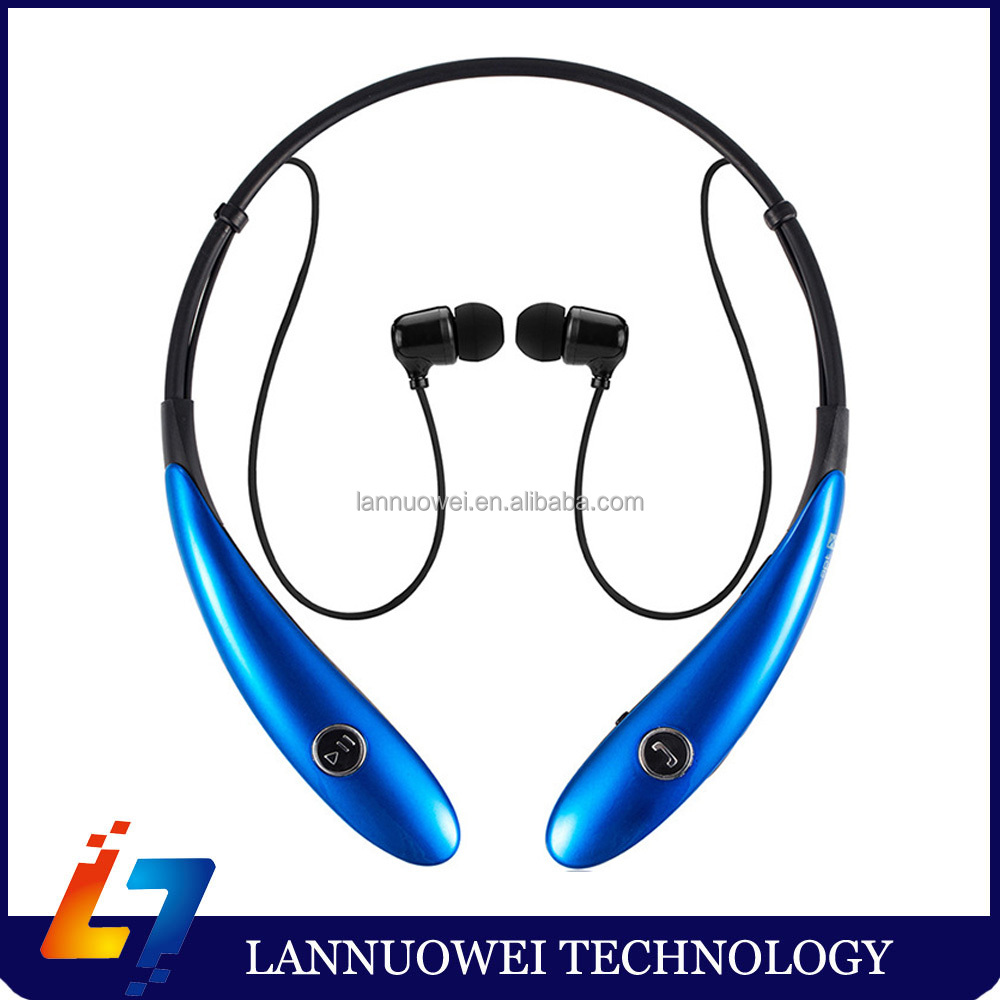 HV900 Blue tooth Wireless Stereo Earphone Neckband earbud headset for mobile phone