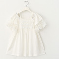 girls dress kids 2016 Lace Cotton Princess Dress Baby Dress Children Dresses
