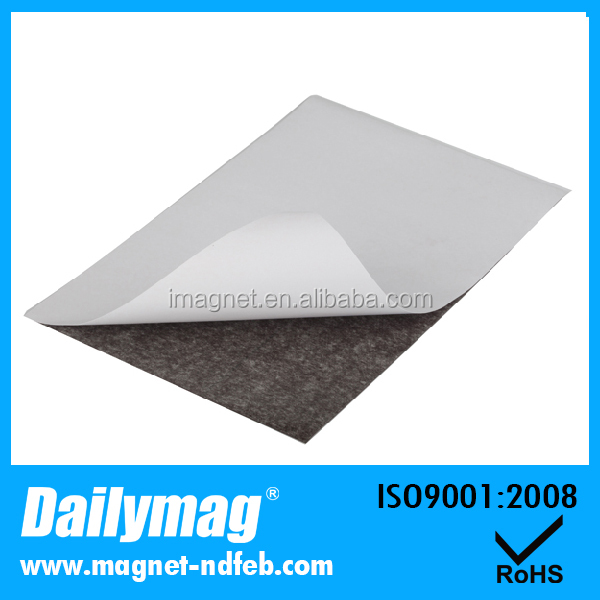 UV Coating Neodymium Rubber Magnet with Adhesive