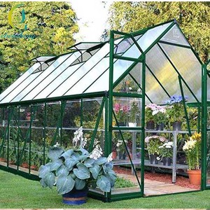 DIY Corrugated Polycarbonate Hobby Greenhouse Outdoor Diy