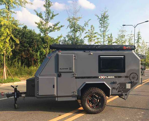 2018 New Model Off Road Camper Trailer with Tent