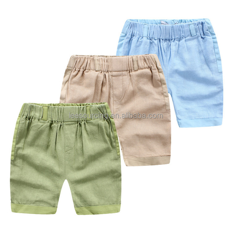 Modern Kids Latest Design 100 Cotton Fabric Casual Cargo Shorts