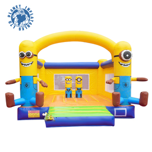 2015 Popular Minion Design Cheap Mini Inflatable Bouncer For Sale