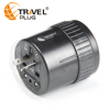 all in one universal travel adapter fo 150 countries use as gift for Rubber & Plastics NT680