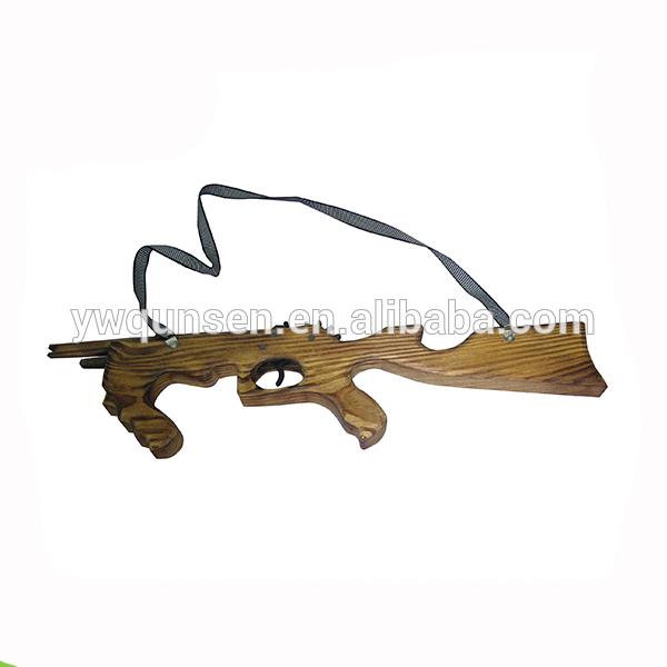 PLASTIC TOY FANCY DRESS - 50CM TOMMY MACHINE GUNS WITH SOUND