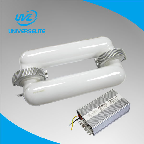 professional lighting manufacturer 40~400W Square induction lamp and ballast