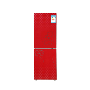 191L top refrigerator brands red color general bottom-freezer refrigerator