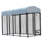 Wholesale Large Outdoor Welded Chain Link Fence Dog Cage Kennel