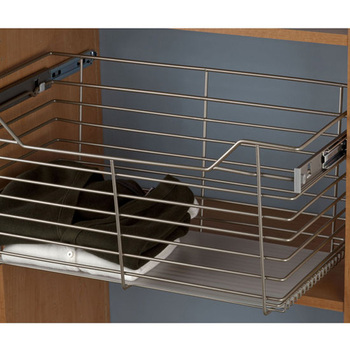 Closet Cabinet Drawers Heavy Duty Wire Basket