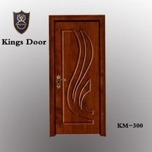 Discount sale popular design high quality cheap price french interior pvc wooden mdf doors : kings doors - pezcame.com