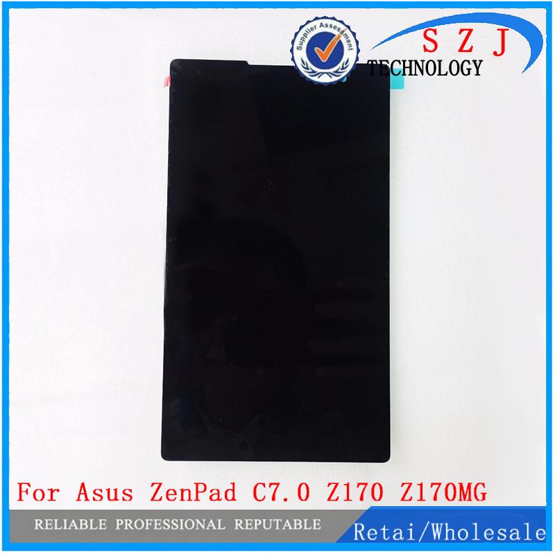 Новый 7 ''дюймов Для Asus ZenPad C7.0 Z170 Z170MG Z170CG Tablet Сенсорный экран Digitizer Стекло + ЖК-Дисплей в Сборе бесплатная доставка