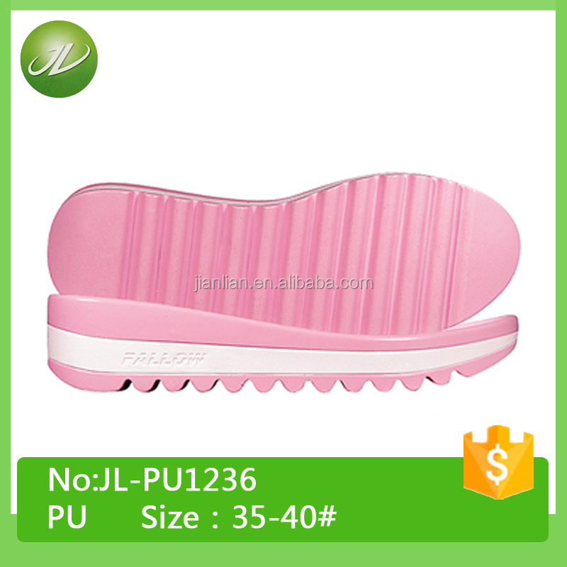 Fashion PU sole Design Ladies outsole for shoe making