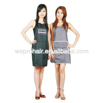 Bai He Wholesale Custom Hair Salon Capes And Aprons Hairdressing