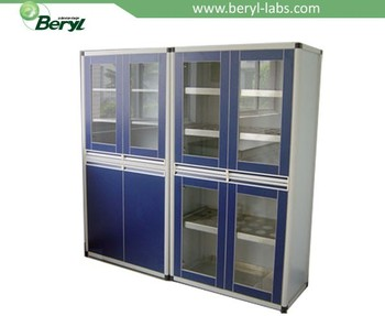 Beautiful 2015 Hot Sale!!!4 Door Laboratory Chemical Vessel Storage Cabinet