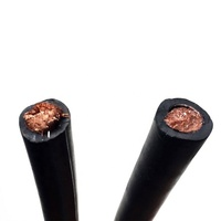 Flexible Copper EPR insulation 16mm 25mm 35mm 50mm 70mm Welding Cable orange color