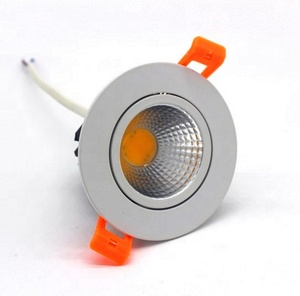 Commercial lighting fixture recessed led driverless downlight adjustable dimmable led downlight 5w 7w 10w 12w 15w 20w