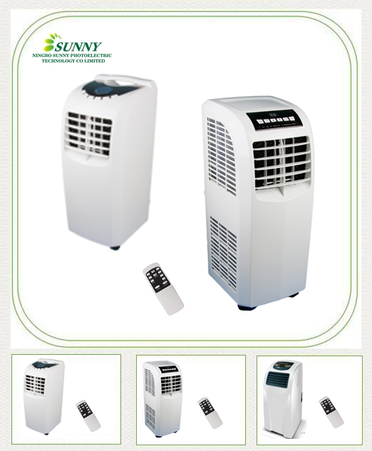 220V 50HZ 60HZ cooling and heating portable air conditioner
