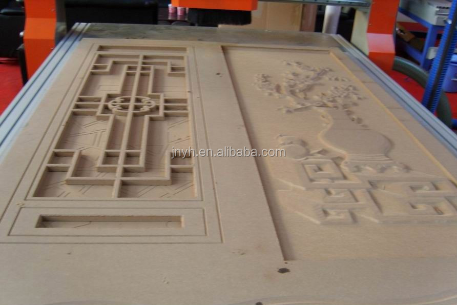 Factory price wood carving door design cnc routers 1325 for Door design machine