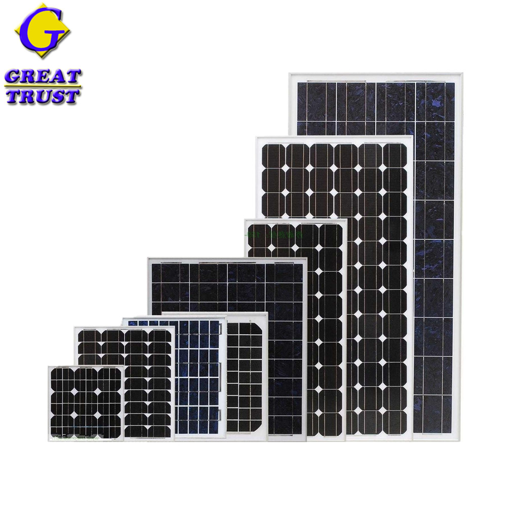 New design pv 100w poly solar panel with competitive price