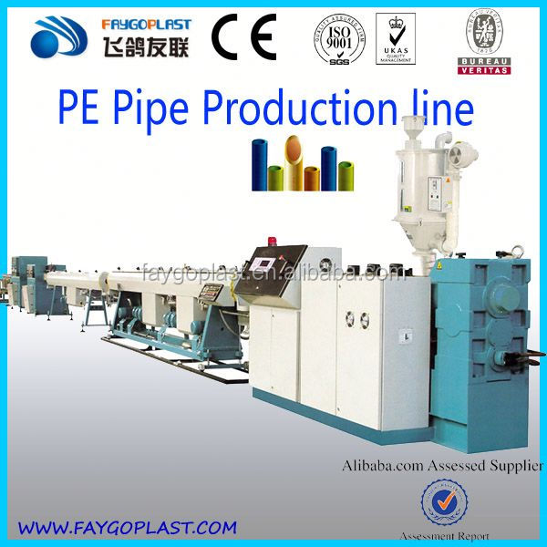 single wall corrugated pipe extrusion line machine polyethylene pipe pipe extrusion