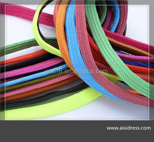 2016 wholesale polyester printed cheap custom shoe laces