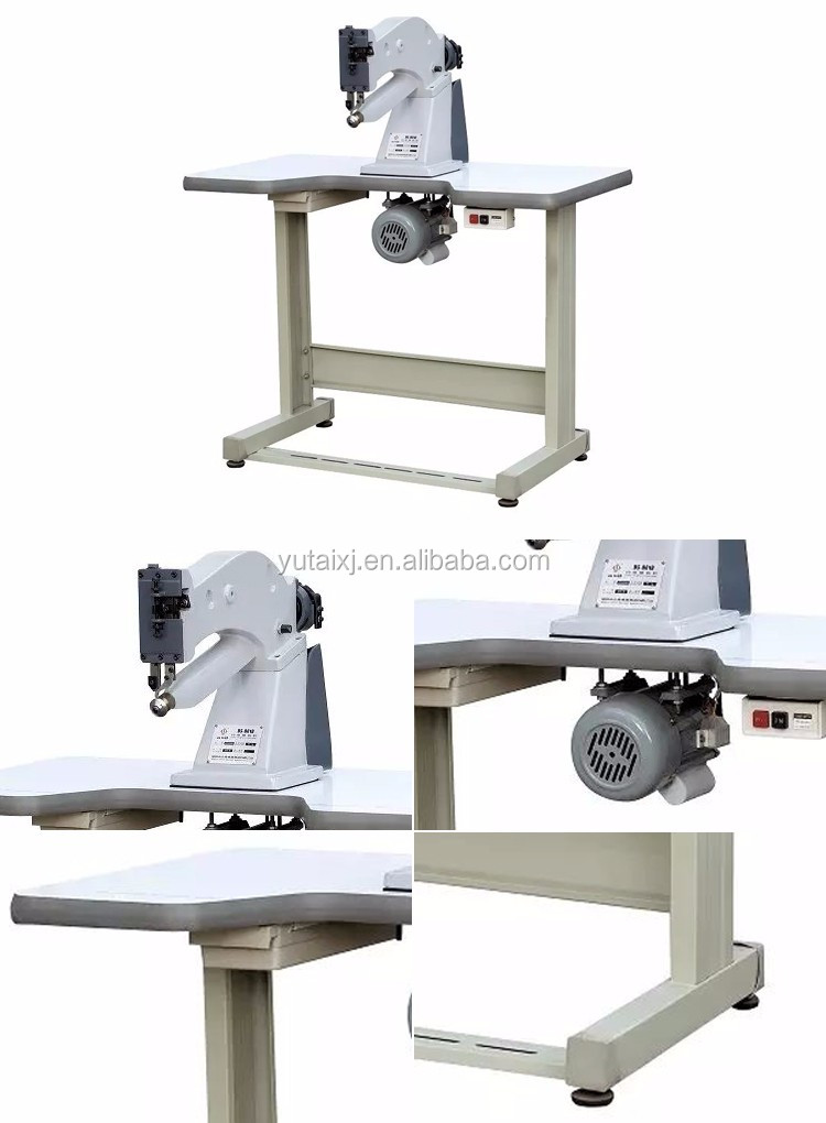 China Factory 220V Semi-Automatic Leather Skiving Shoe Making Machine