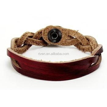 37913c357a69 PK0464 Vintage pulsera de cuero Real adolescente regalo de pulsera logotipo  personalizado Nombre de cuero barato