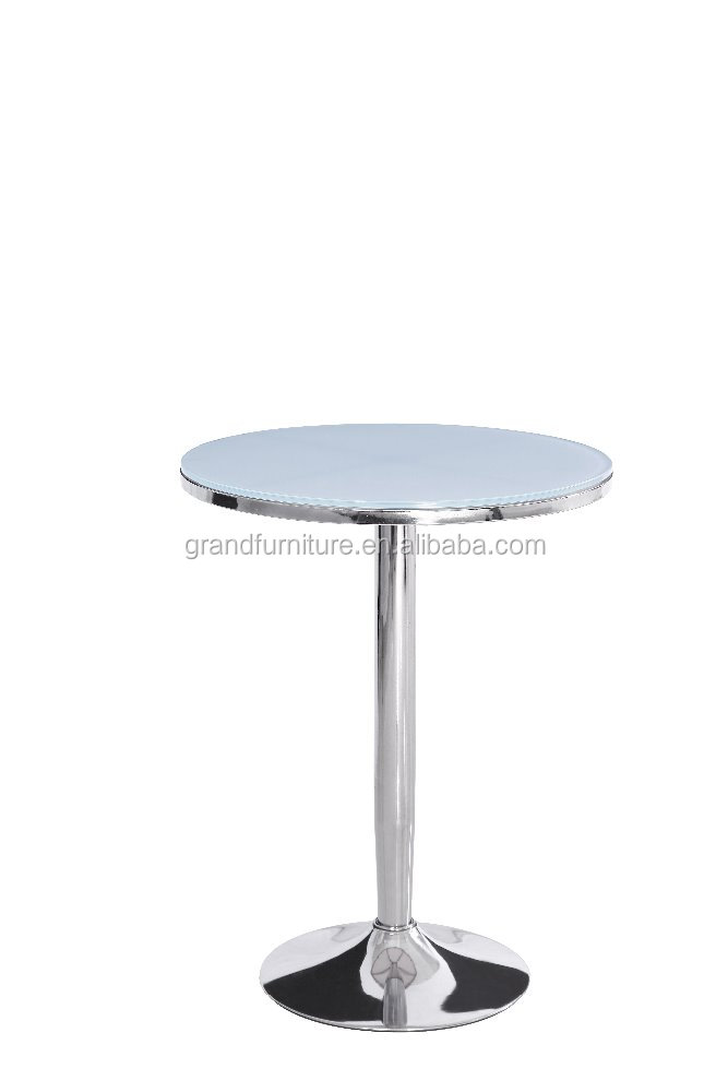 2017 Glass Cocktail table High Corner table