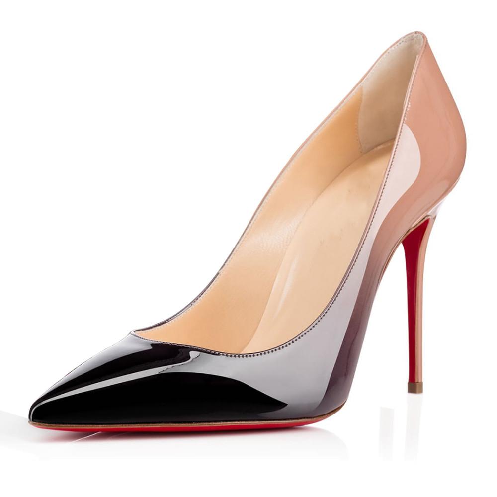 nouveau produit 18c88 27cf3 chaussure pour femme a semelle rouge