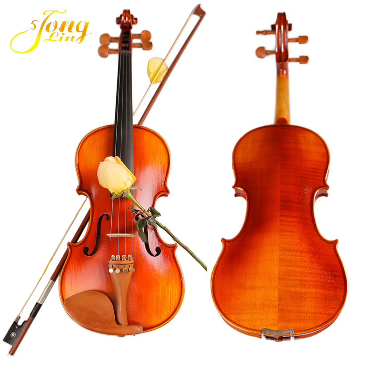 10pcs 4/4 Violin Unfinished Flame Maple Spruce Wood Musical Instruments & Gear