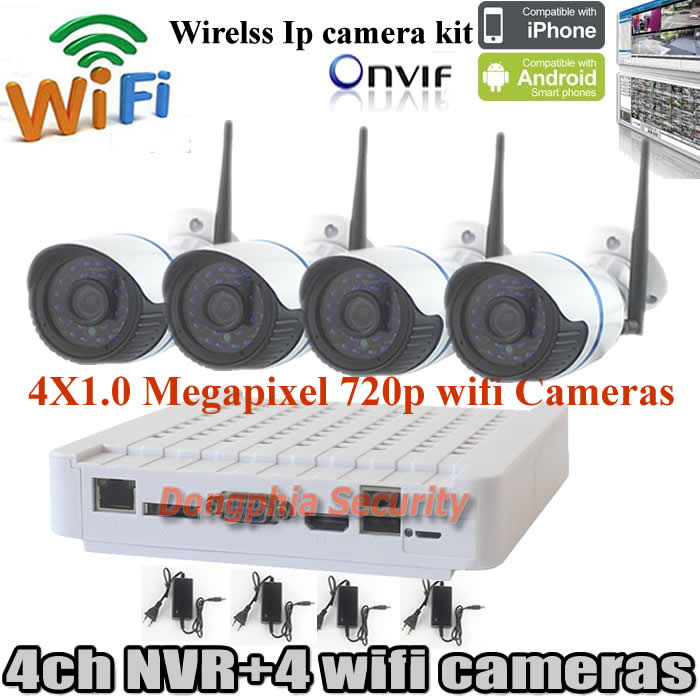 Best seller 4 channel camera kits home security cameras - Best wireless exterior security camera ...