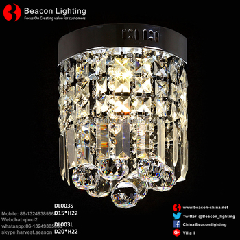 Supply Low Price Crystal Chandeliers Light Mini Style Modern D Cor Flush Mount Fixture With Ceiling Lamp