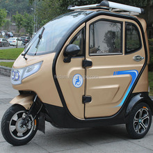 Enclosed cabin passenger 3 wheel motorcycle