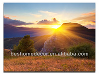 natural scenery designs, led canvas art painting