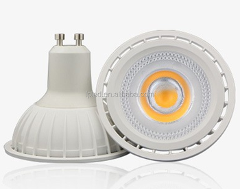 B15 / GU10 base 8W led COB 220V 230V dimmable spotlight bulb with 50000hrs lifespan 100-240V spotlight