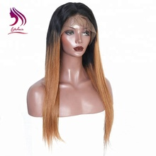 100 chinese remy ombre hair extensions groothandel <span class=keywords><strong>goedkope</strong></span> menselijk haar volledige kant <span class=keywords><strong>pruik</strong></span>