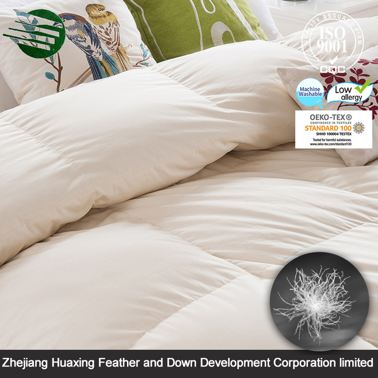 HuaXing Wholesale Beautiful Design Professional Down Comforter