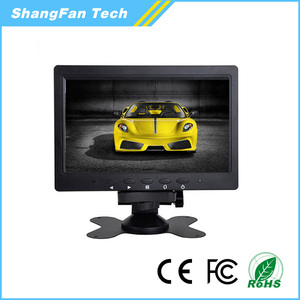 Factory Offer 9inch LCD Car Monitor with 2 Video inputs for Dashboard Monitor