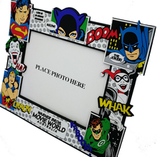 custom kids movie cartoon characters plastic rubber soft PVC photo frame picture frame