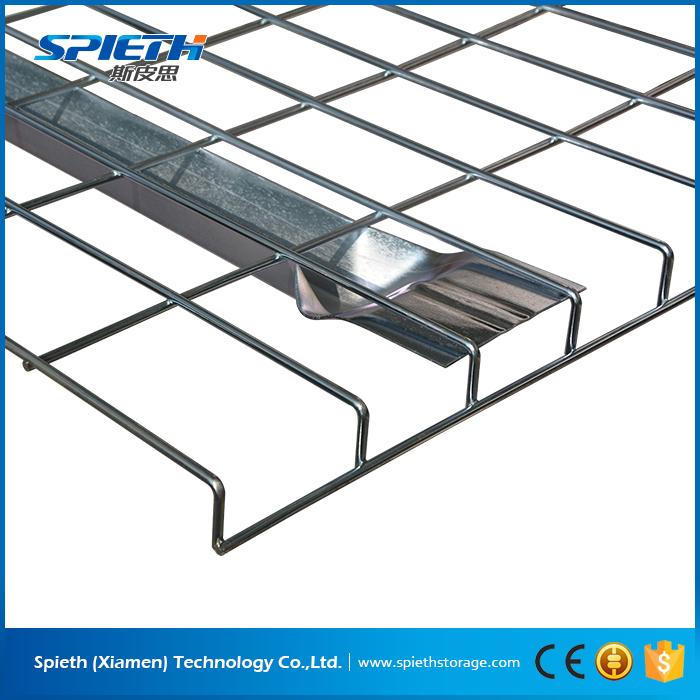 Heavy Duty Galvanized Wire Mesh Deck Railing For Pallet Rack - Buy ...