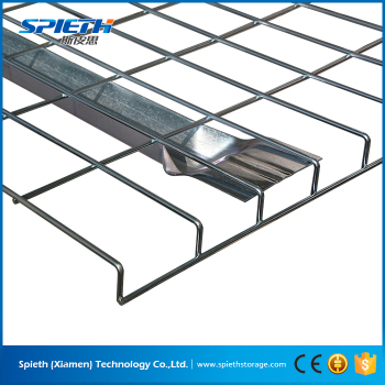 Heavy Duty Galvanized Wire Mesh Deck Railing For Pallet Rack - Buy ...
