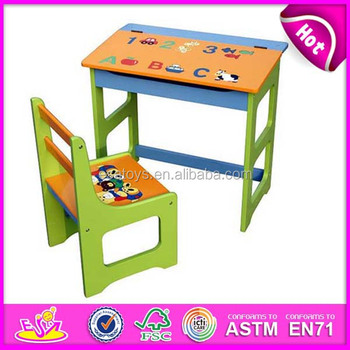 Best School Table School Chair For Kids,School Desk Student Table Chair  Set,Wooden Toy School Table And Chairs Set Wj278051   Buy School Table And  ...