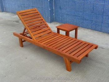 Wooden Garden Sun Loungers Recliners Buy Wood