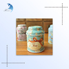 Wholesale Zakka Smart Small Scented Tea Tin Canister Food Storage Boxes