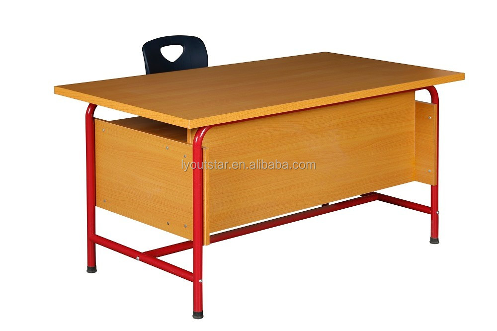 Modern wood table office furniture structure laminated for Html table structure