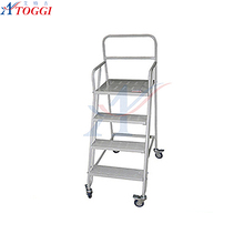 metal step ladder trolley 2 step ladder,household steel ladder