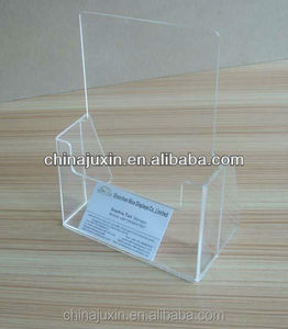 A4 Leaflet Dispenser,acrylic brochure holder,1/3 a4 brochure holder