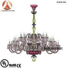 Large Chandelier Crystal Glass Pendant