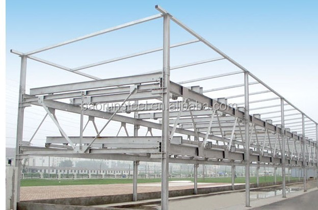 high quality with long service life steel structure building for workshop