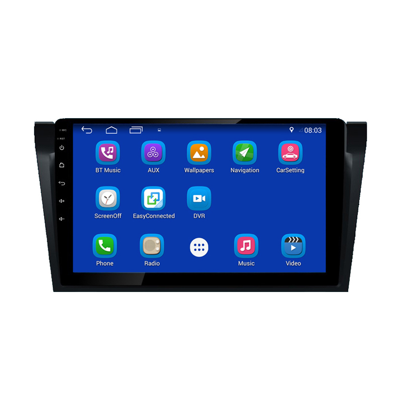 "9 ""Android 7.1 Car DVD Player, Quad Core, GPS, Radio, Bluetooth Per Mazda 3"